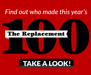 Find out who made this year's The Replacement 100!