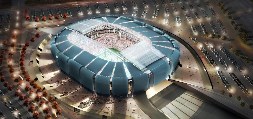 University Of Phoenix Stadium Architect Magazine Peter