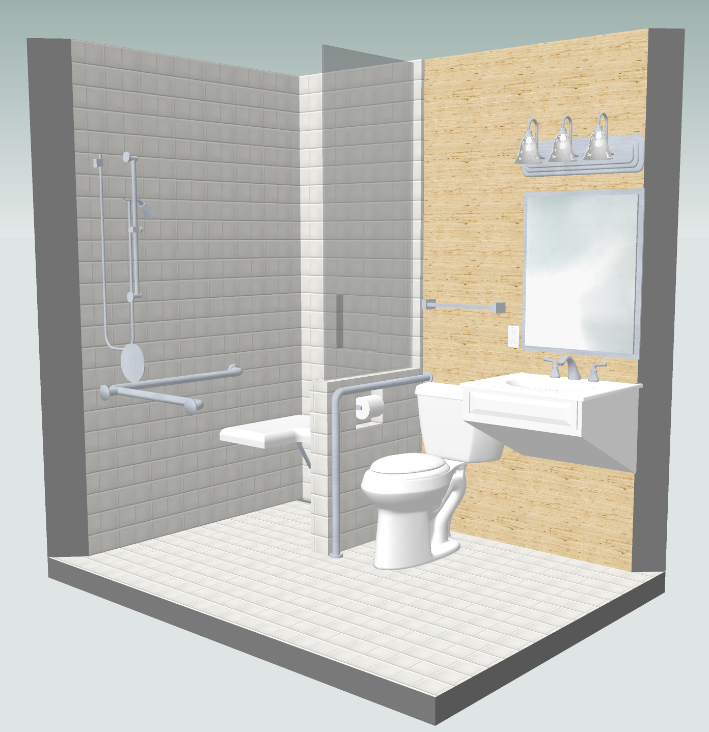 cost vs. value project universal design bathroom  remodeling, Home designs