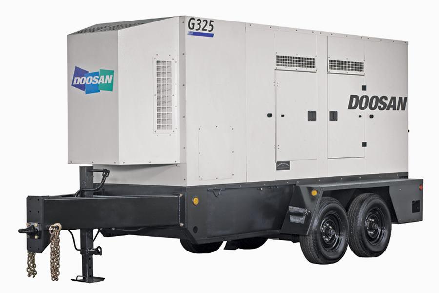 Doosan Portable Power Tier 4 Interim Mobile Generators
