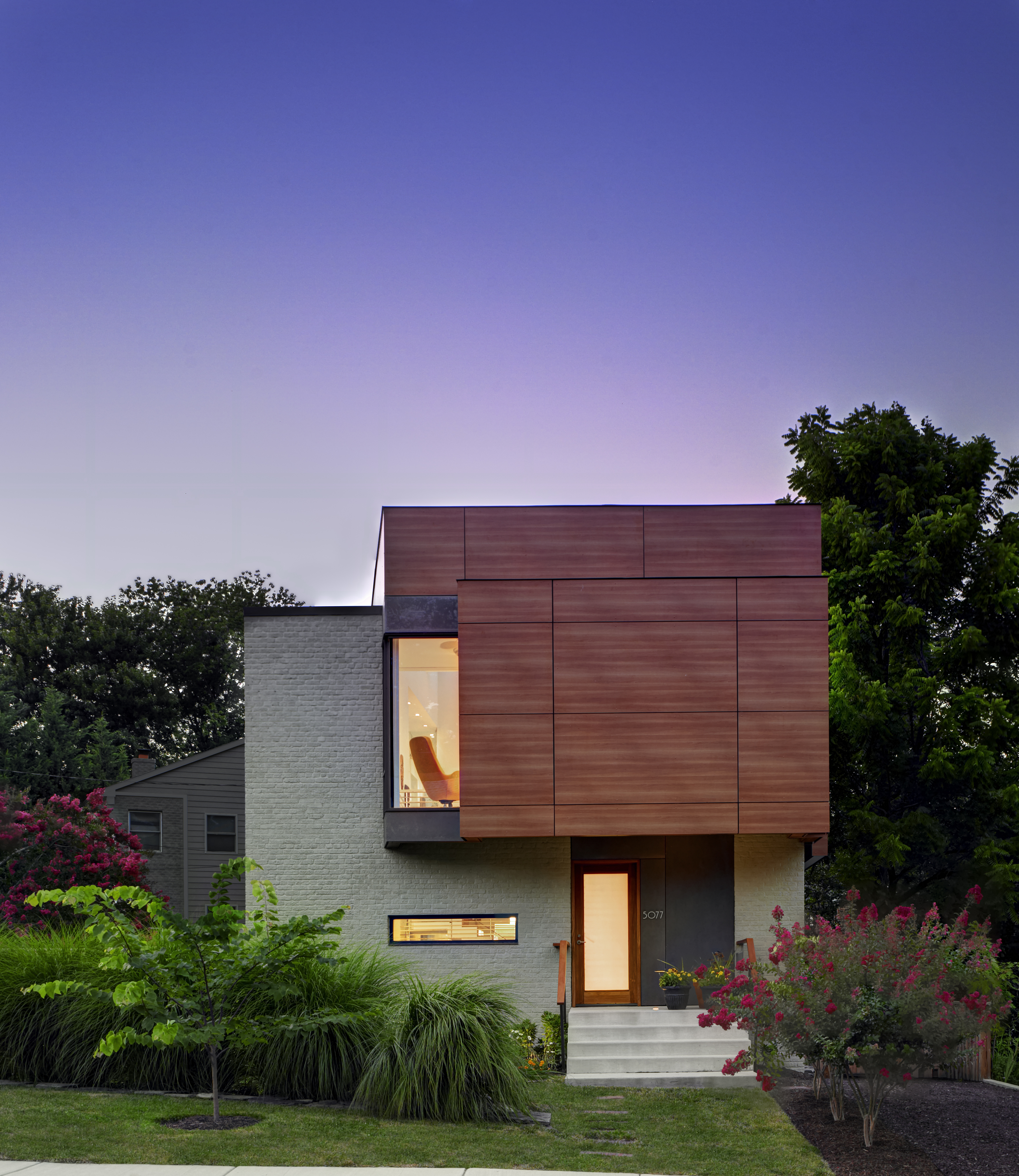 Clean Green Leed Platinum Home Offers Light And Space