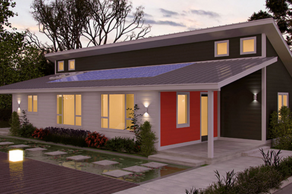 A Net Zero Prefabricated Home Collection Ecobuilding