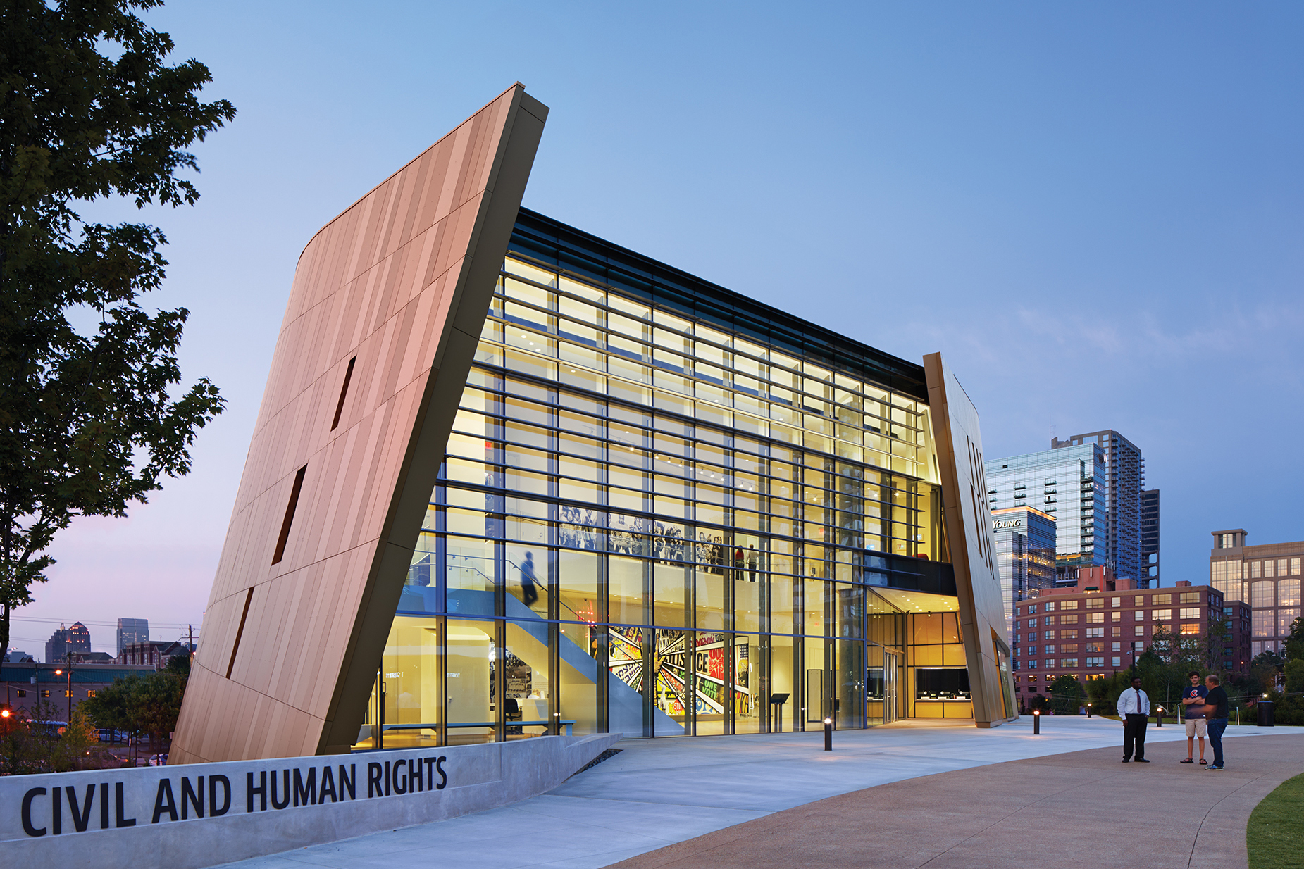 National Center For Civil And Human Rights Architect