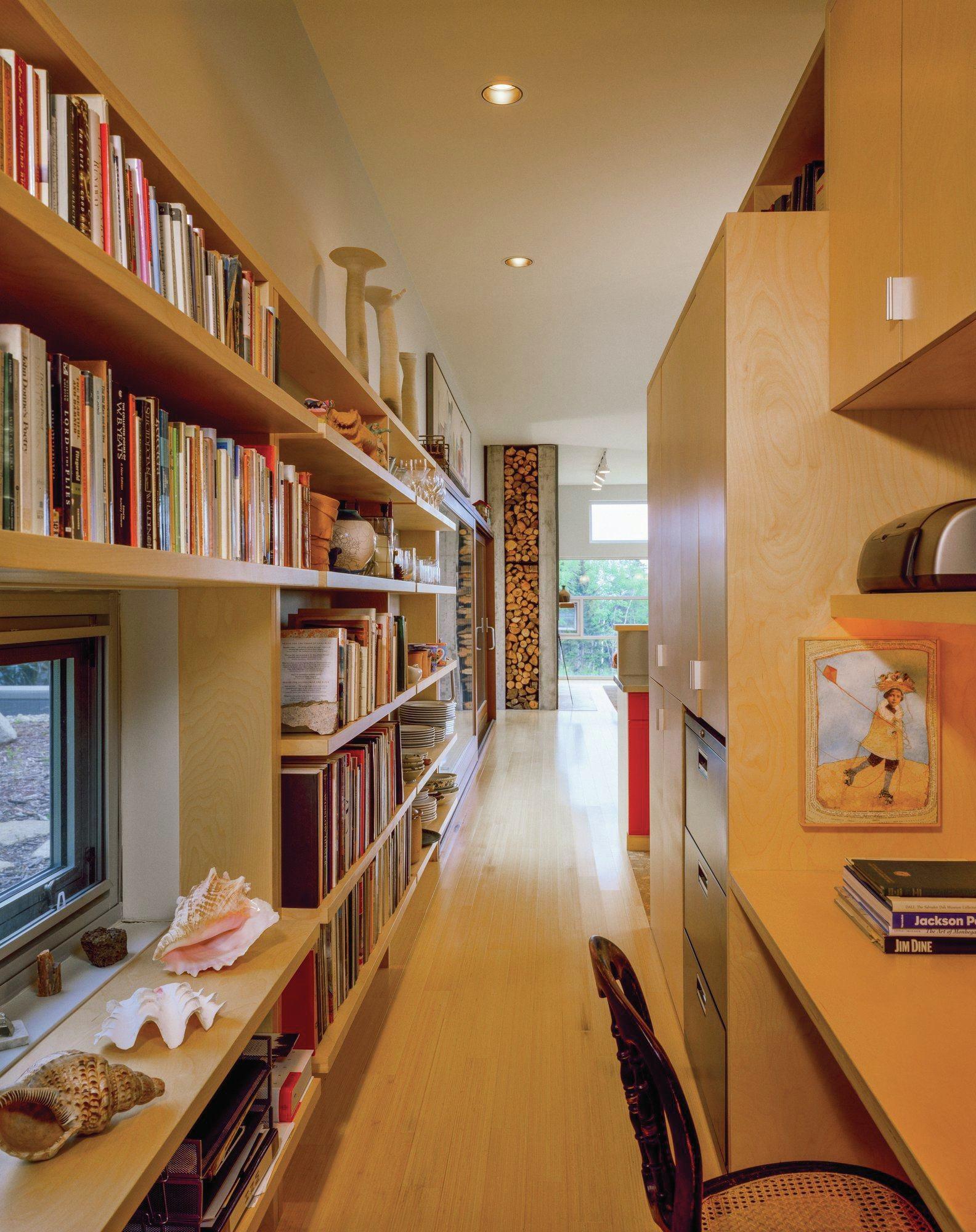 A Hard Working Hallway Custom Home Magazine Detail
