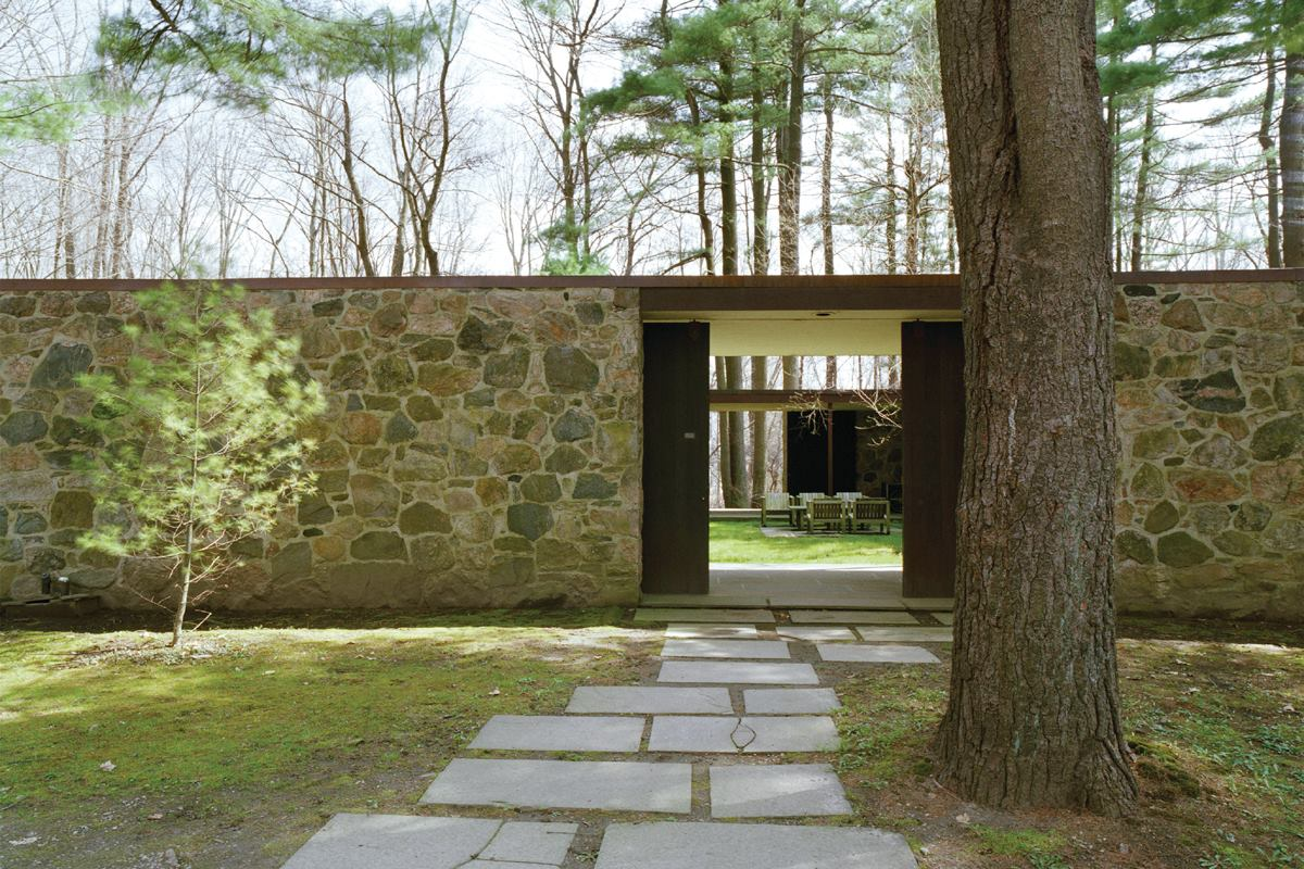 Eliot noyes 39 new canaan modernist homestead architect for Noyes home