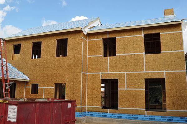 Tight House Construction Sealing Exterior Sheathing Seams Jlc Online Passive Design