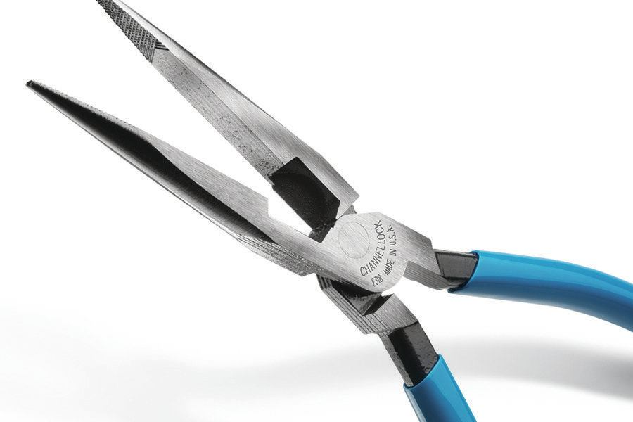 Channellock Nail Puller : Channellock e series long nose pliers tools of the trade