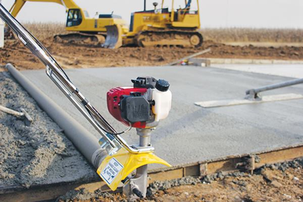 Spin Screed Lightweight Power Roller Screed Concrete