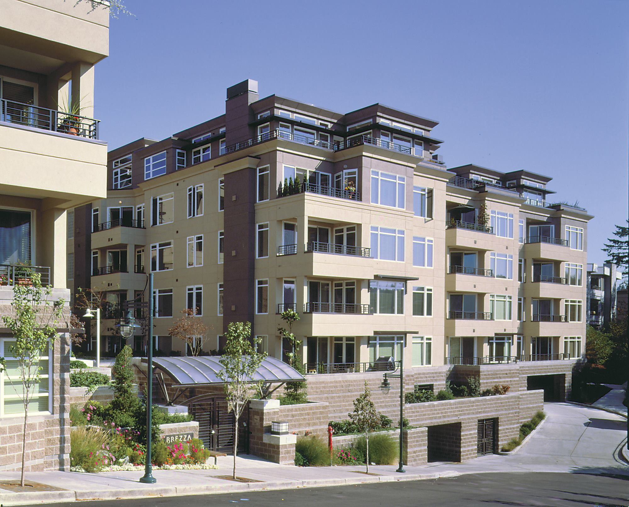Brezza condominiums kirkland wash residential for Residential architect design awards