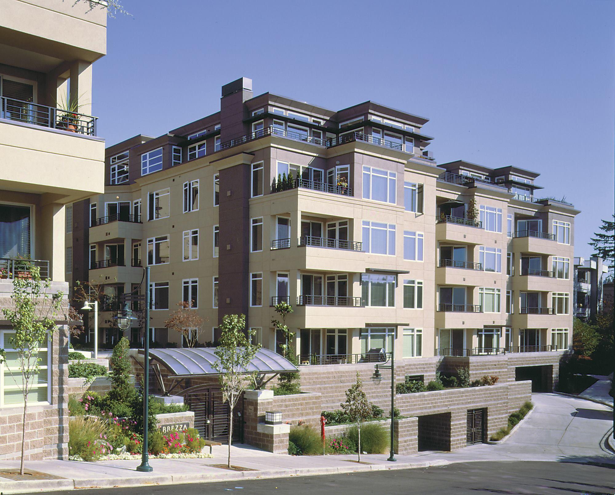 Brezza condominiums kirkland wash residential for Residential architect design awards