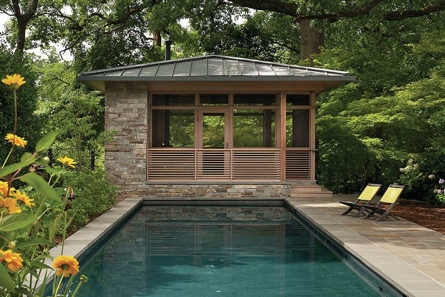 The Treehouse Washington D C Custom Home Magazine Award Winners