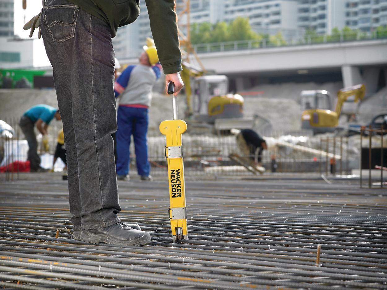 Wacker Neuson Df 16 Rebar Tier Concrete Construction