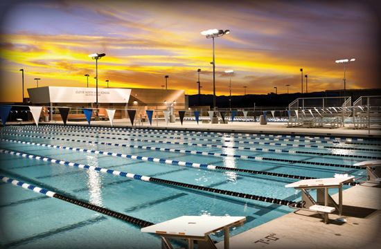 Clovis North High School Aquatics Complex Aquatics