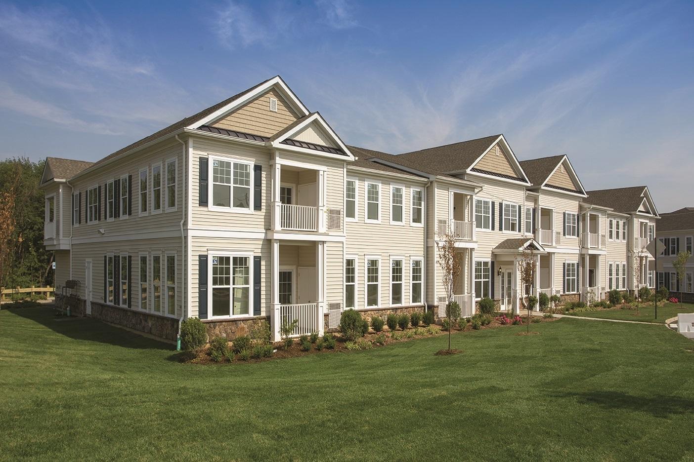 Multi Family Property Development : Single family feel in a plus multifamily property
