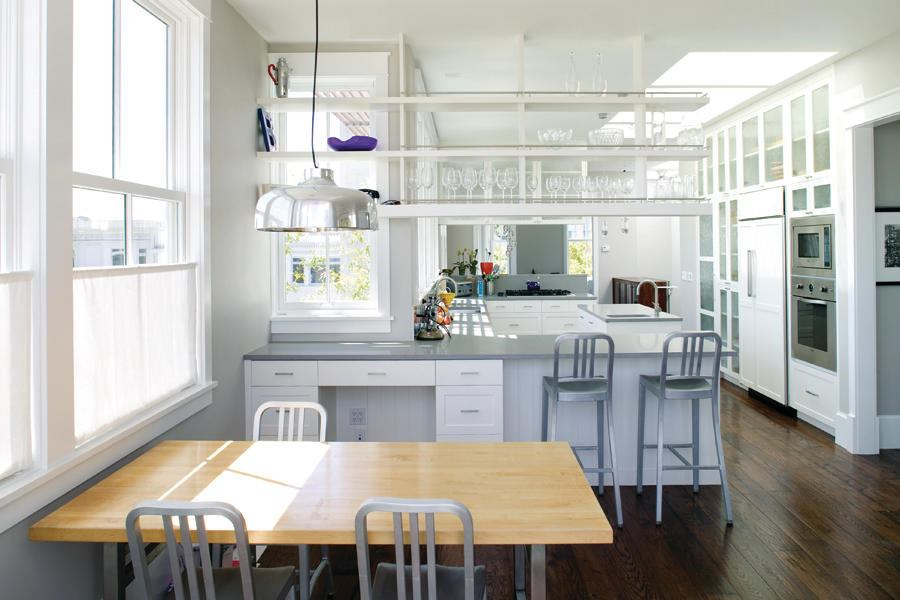 pacific heights townhouse kitchen