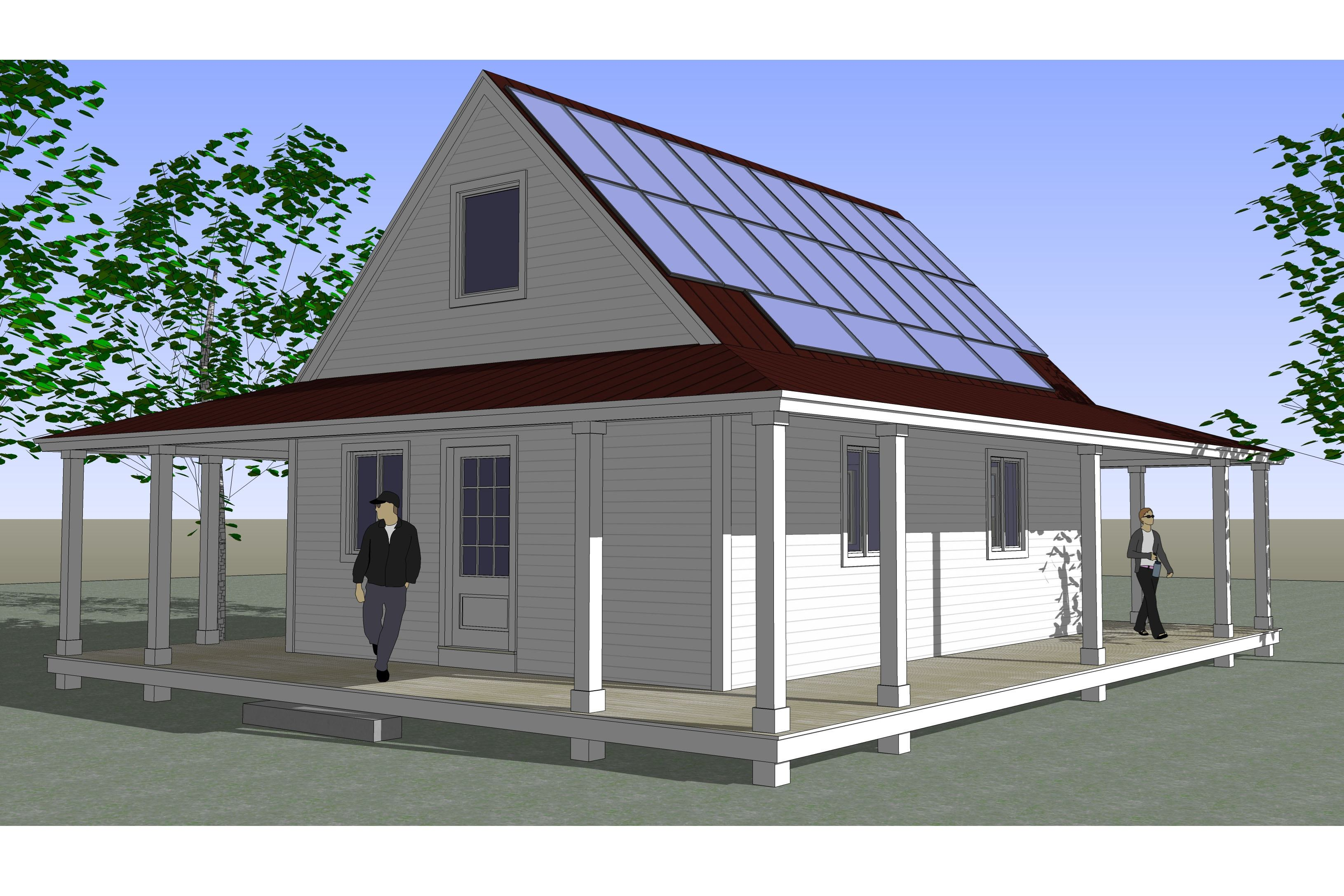 13 simple affordable energy efficient home plans ideas for Efficient homes