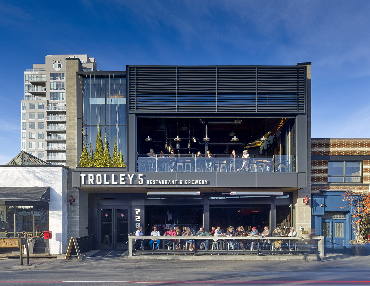 Trolley Five Architect Magazine Modern Office Of