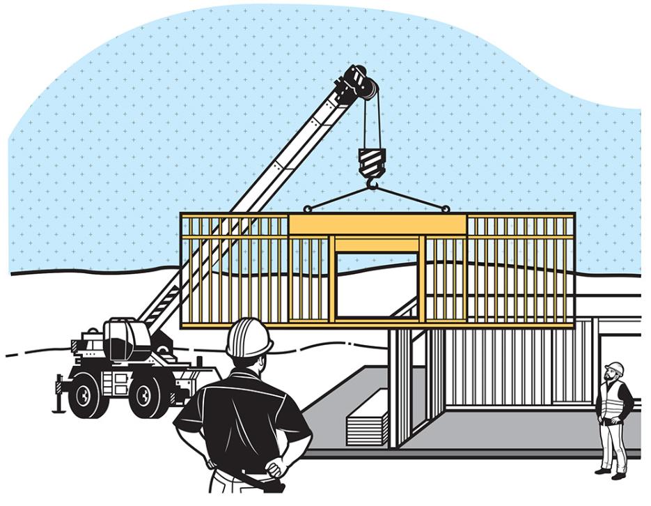 Prefab Wall Systems Save On Labor Builder Magazine