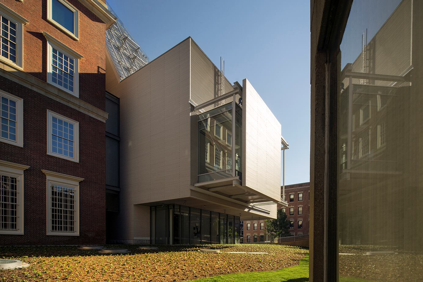 Harvard art museums slated to open sunday architect for Architecture harvard
