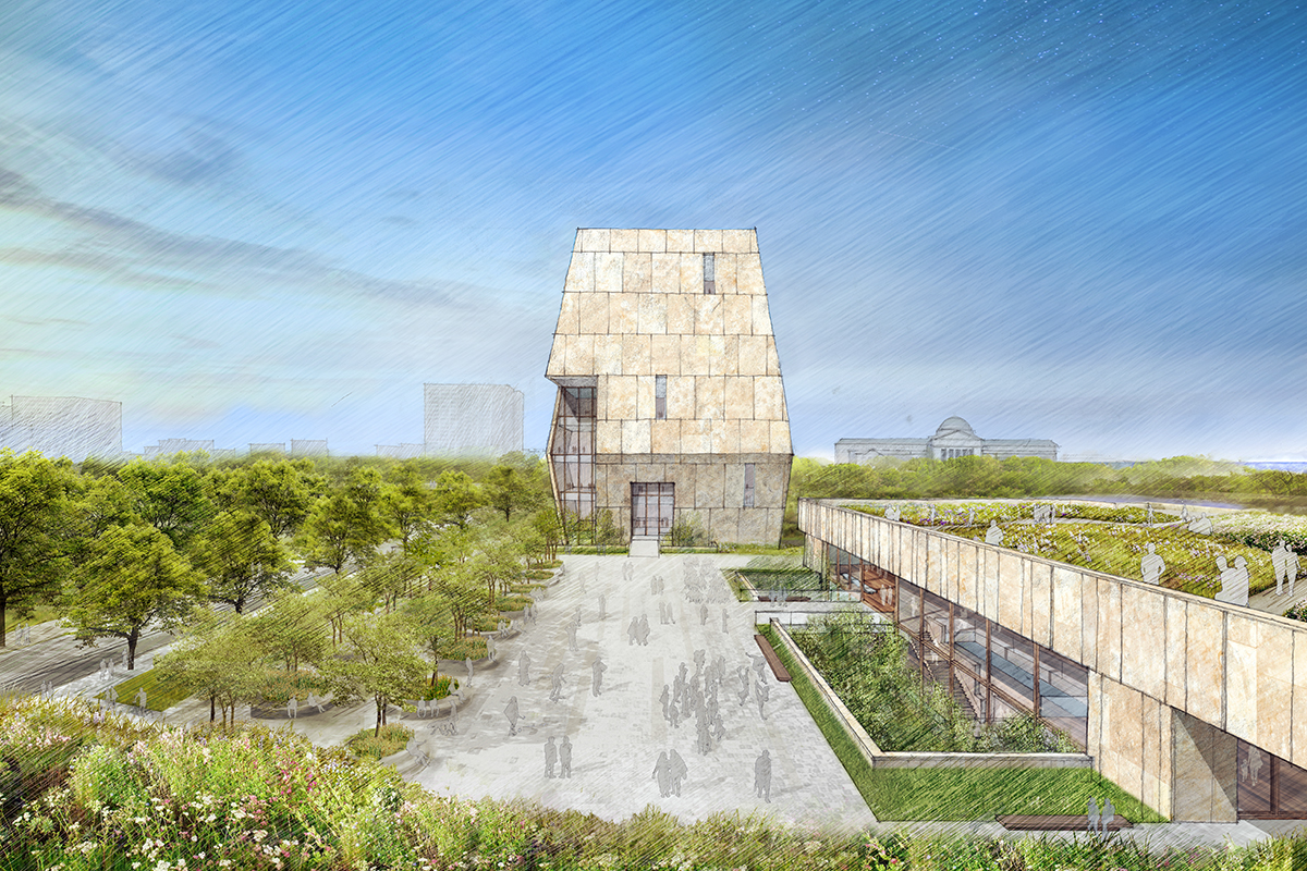 Obama Presidential Center Concept Design Unveiled In