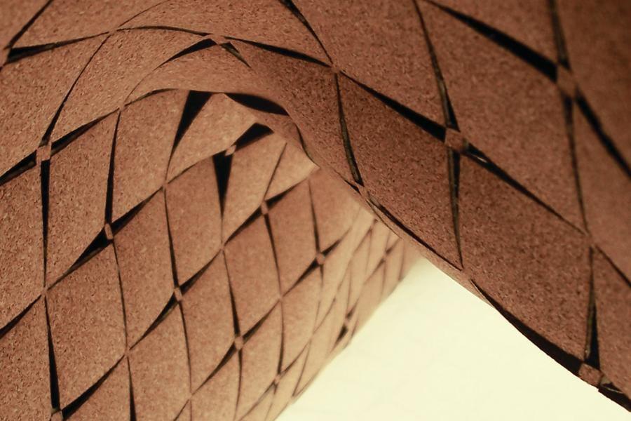 Cork Architecture Laser Cut Cork Surfaces Architect