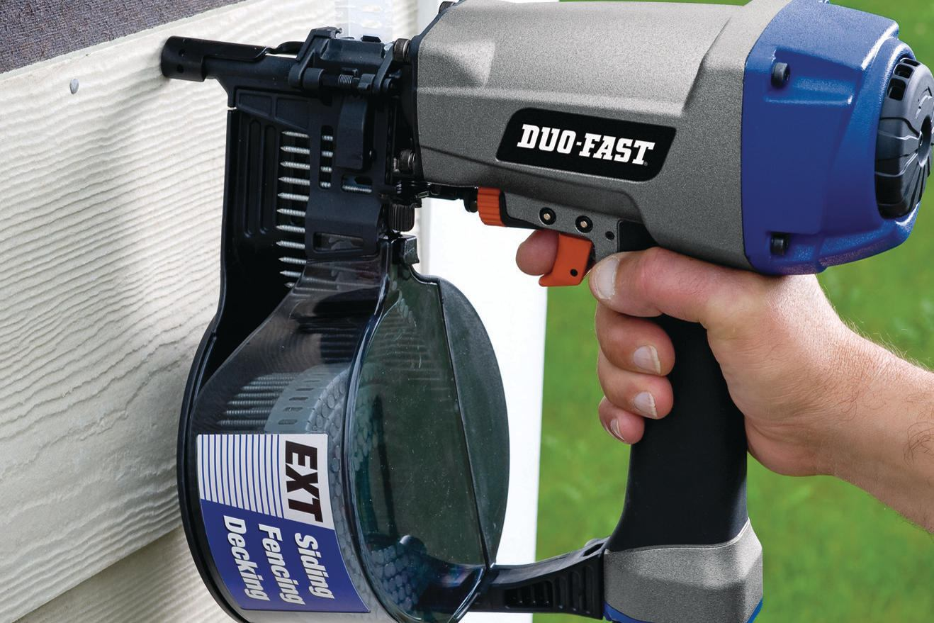 Duo Fast Construction Coil Siding Nailer Builder