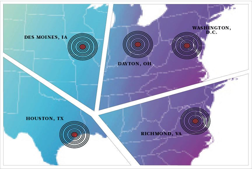 Across the Institute: In Houston, Des Moines, Dayton ...