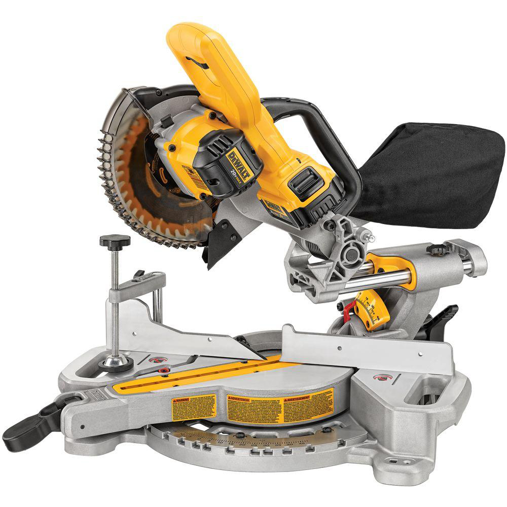 Dewalt Cordless Miter Saw Tools Of The Trade Miter
