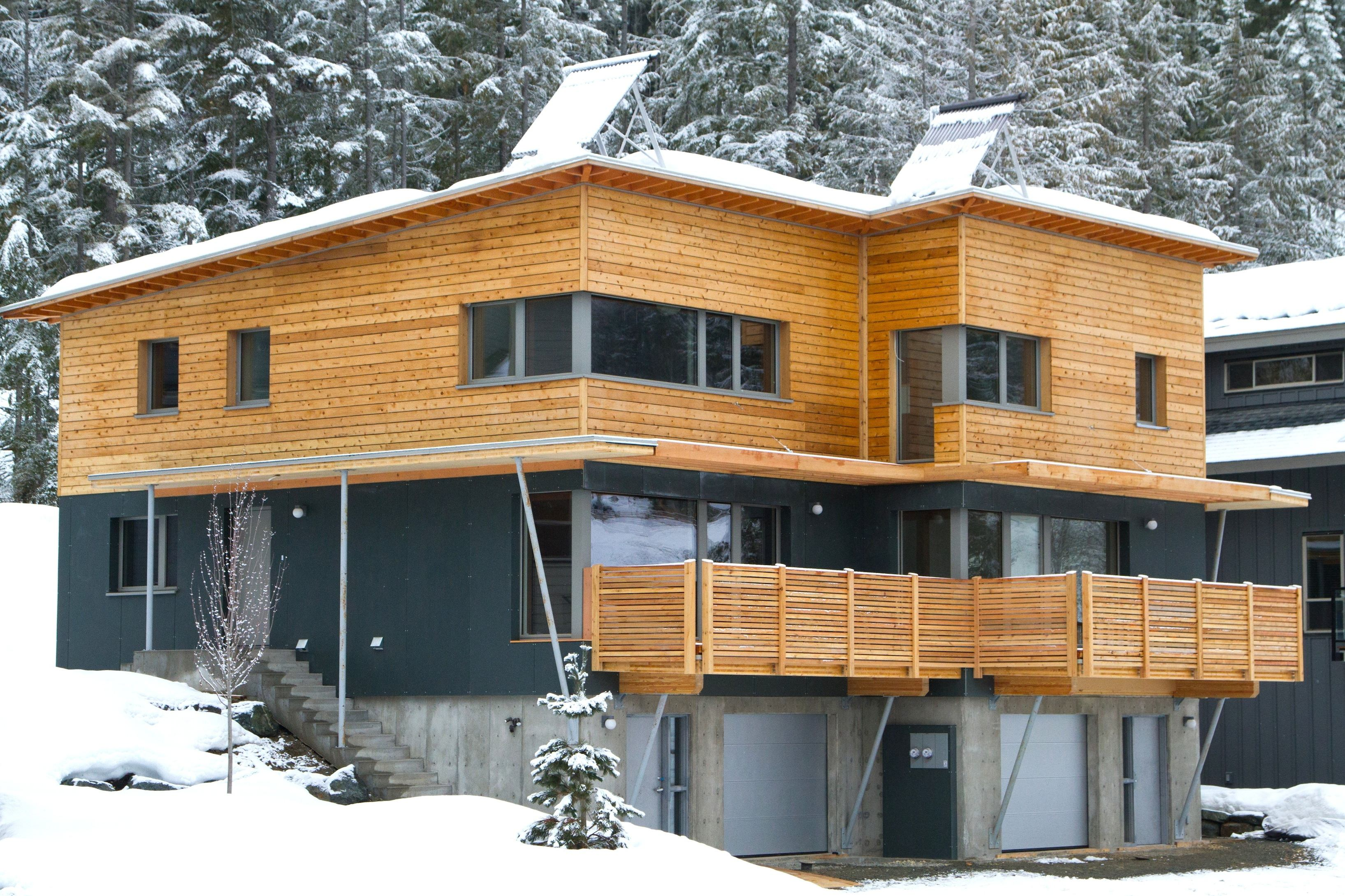 An Affordable Passive House Borrows From Europe Builder