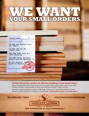 American Lumber Prosales Online Sales Marketing