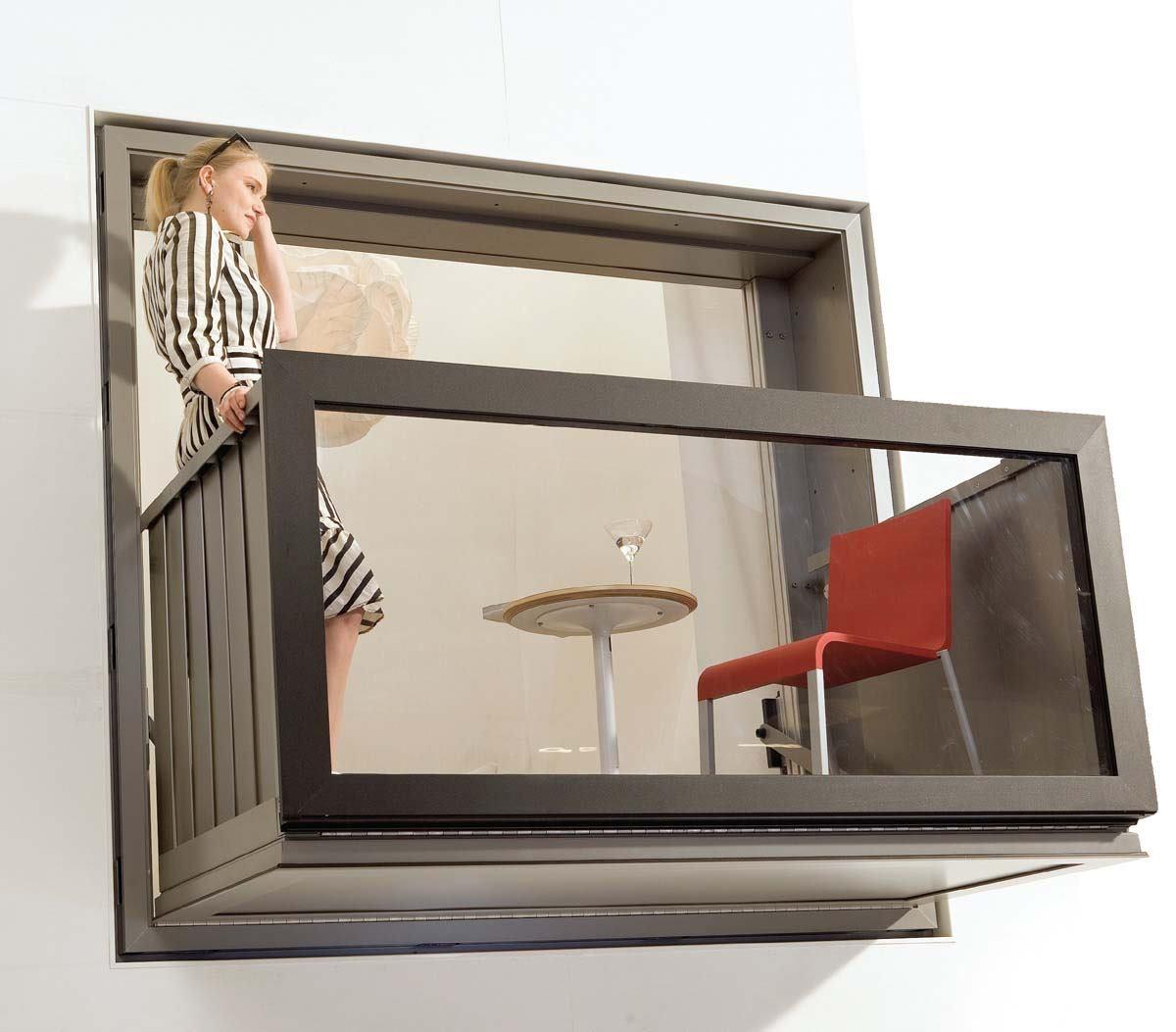 Bloomframe Balcony From Hurks Architect Magazine