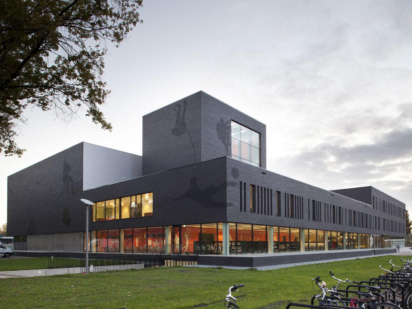 Fontys school of sport studies residential architect for Eindhoven design school