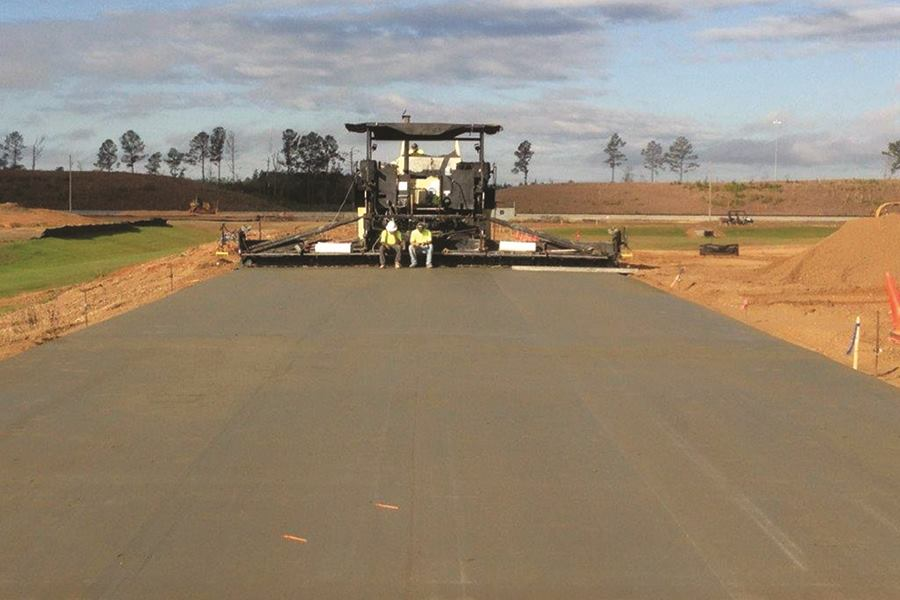 Roller Compacted Concrete Morgan Corp : Roller compacted concrete then and now producer