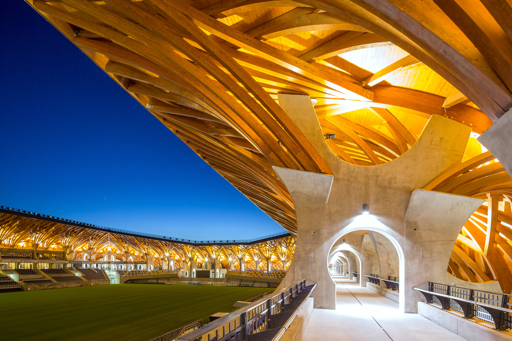 Innovative Detail Pancho Arena Architect Magazine