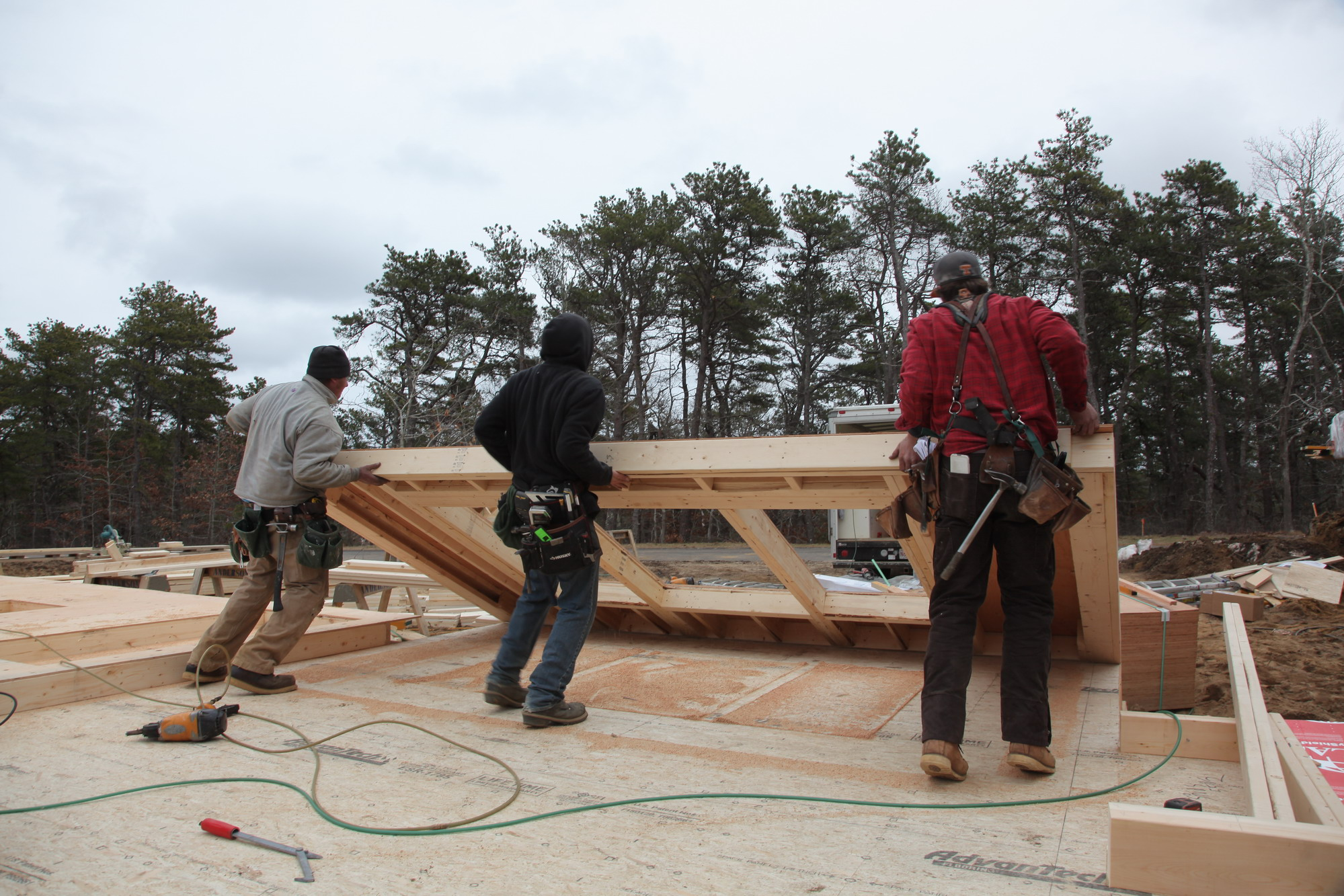 Building And Raising Exterior Walls Jlc Online Framing
