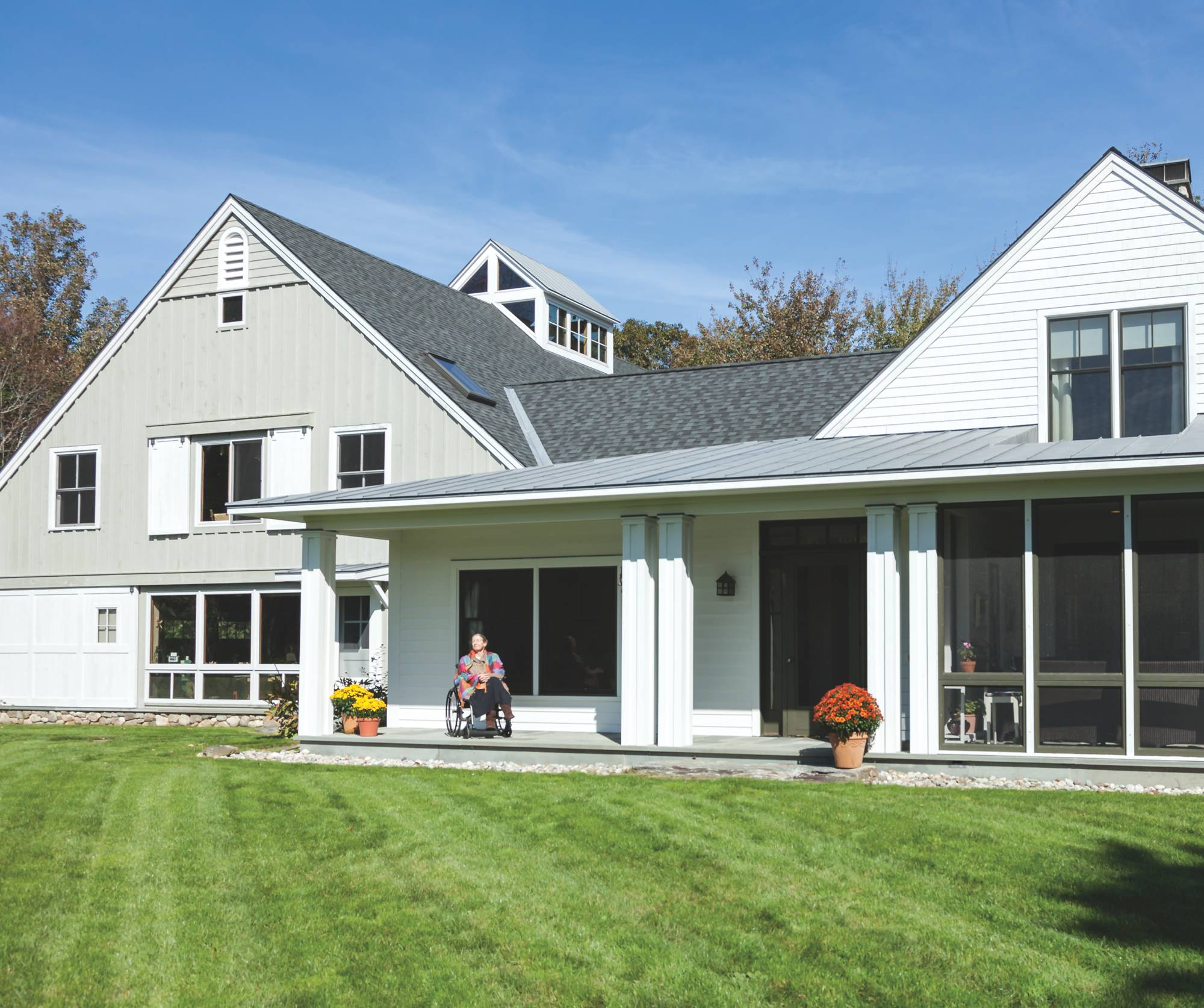 Come together a coastal maine home accessible to all for Maine home and design