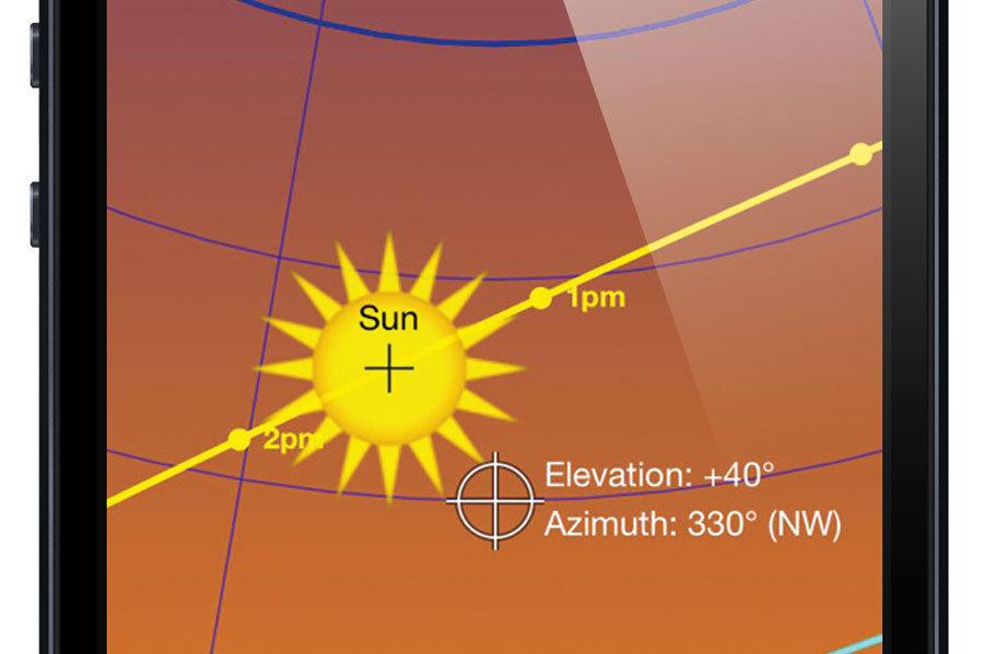 Sun Seeker App Gives Users Site Orientation Insight