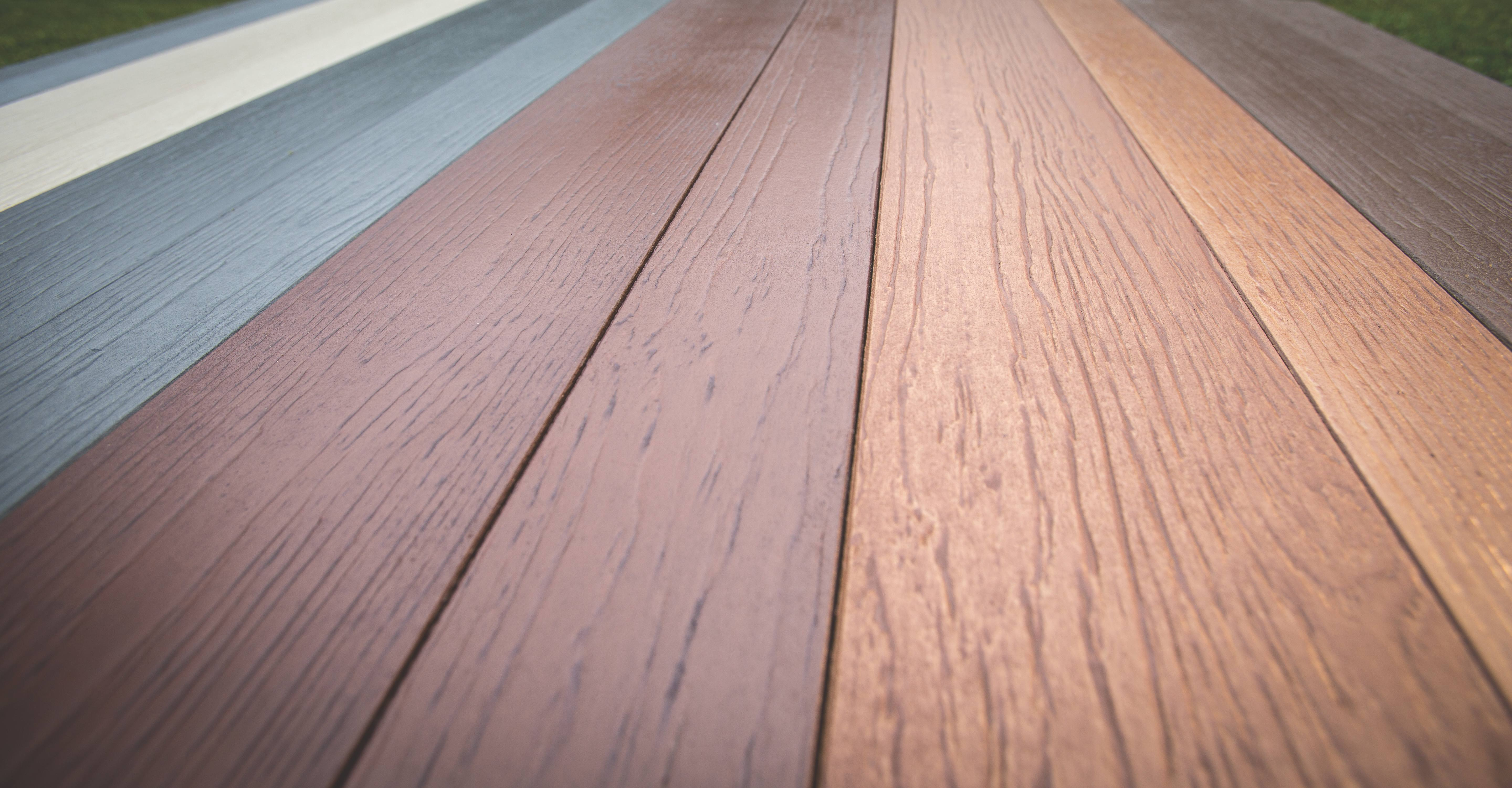 What 39 s new in decking products prosales online decks for Composite flooring for decks