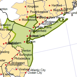 Map Of New York New Jersey And Pennsylvania Montana Map - Map of new york and new jersey