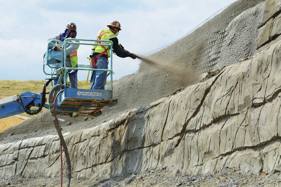 Shotcrete Sculpting Concrete Construction Magazine