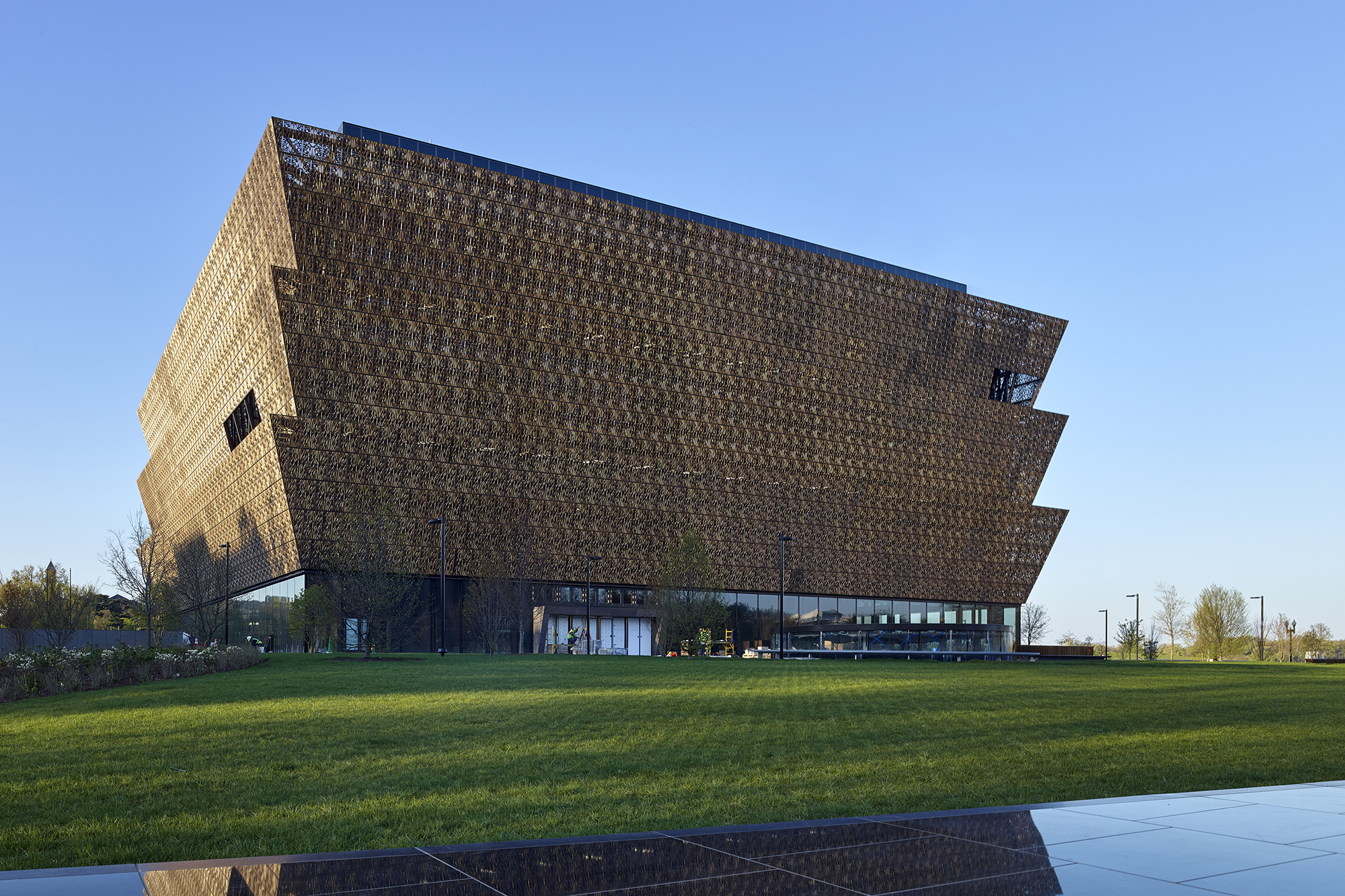 The smithsonian 39 s nmaahc takes shape on the national mall - African american interior designers chicago ...