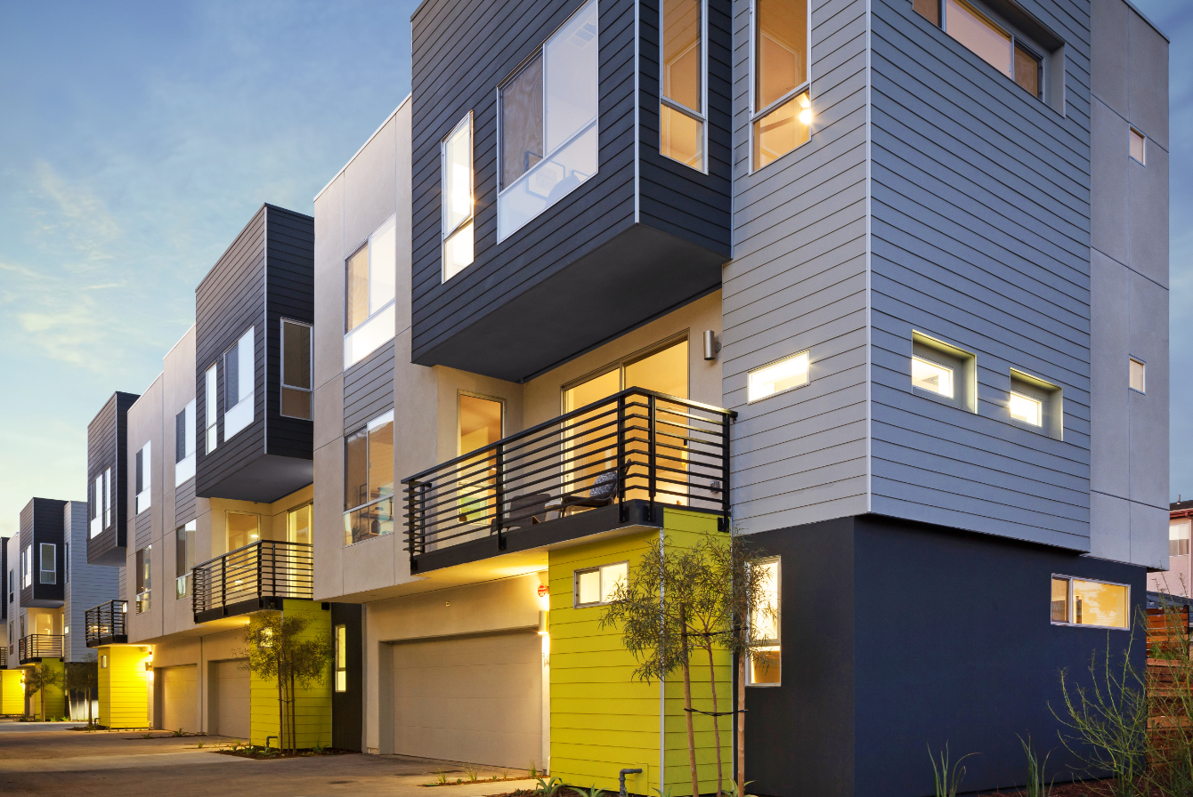 New L A Project Redefines Quot Detached Quot Housing Builder