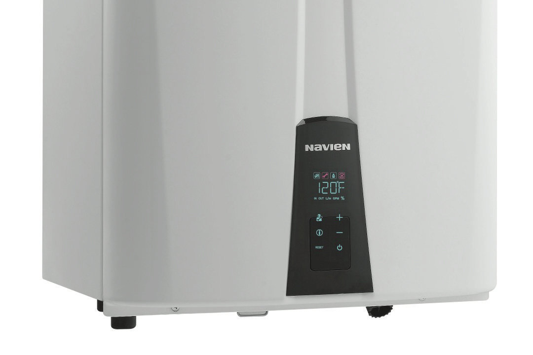 Navien Nr  Condensing Tankless Hot Water Heater Natural Gas