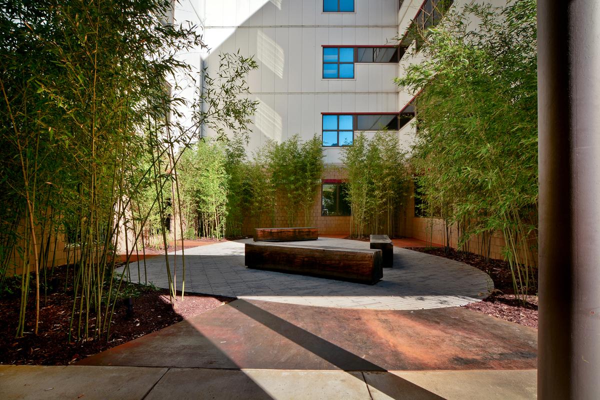 Regional one medical courtyard architect magazine for Courtyard renovation ideas