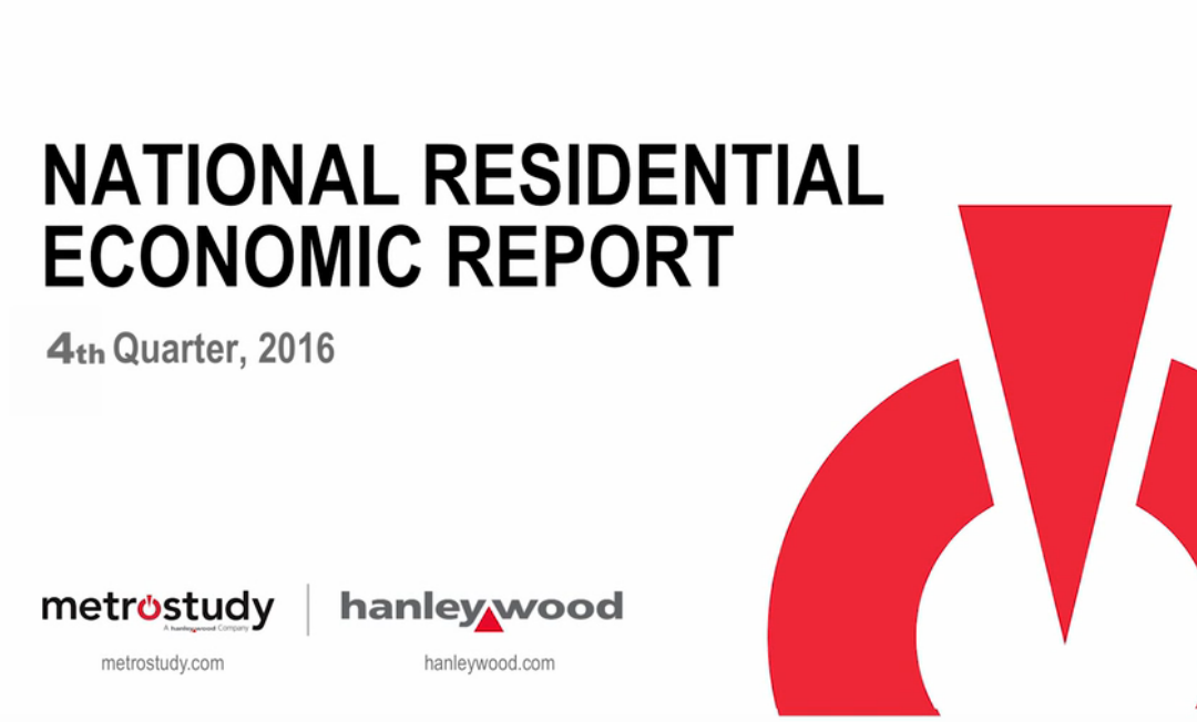 National Residential Economic Report Predicts Housing