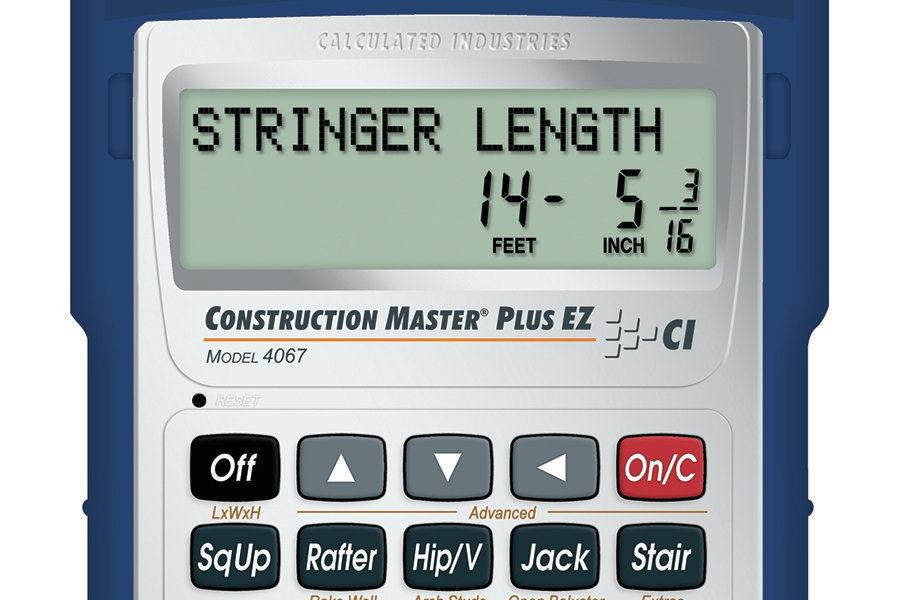 Calculated industries construction master plus ez for Online building estimator