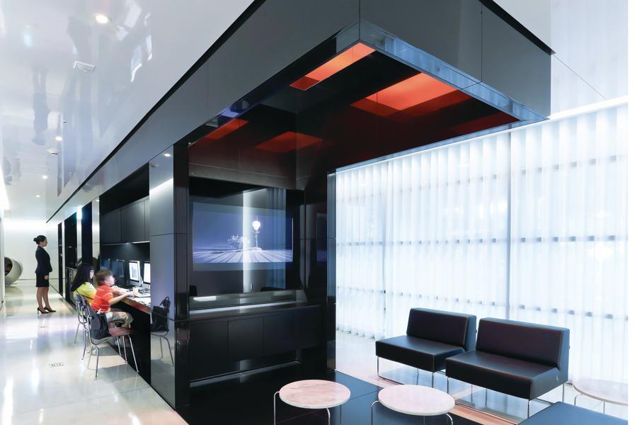 hyundaicard air lounge architect magazine