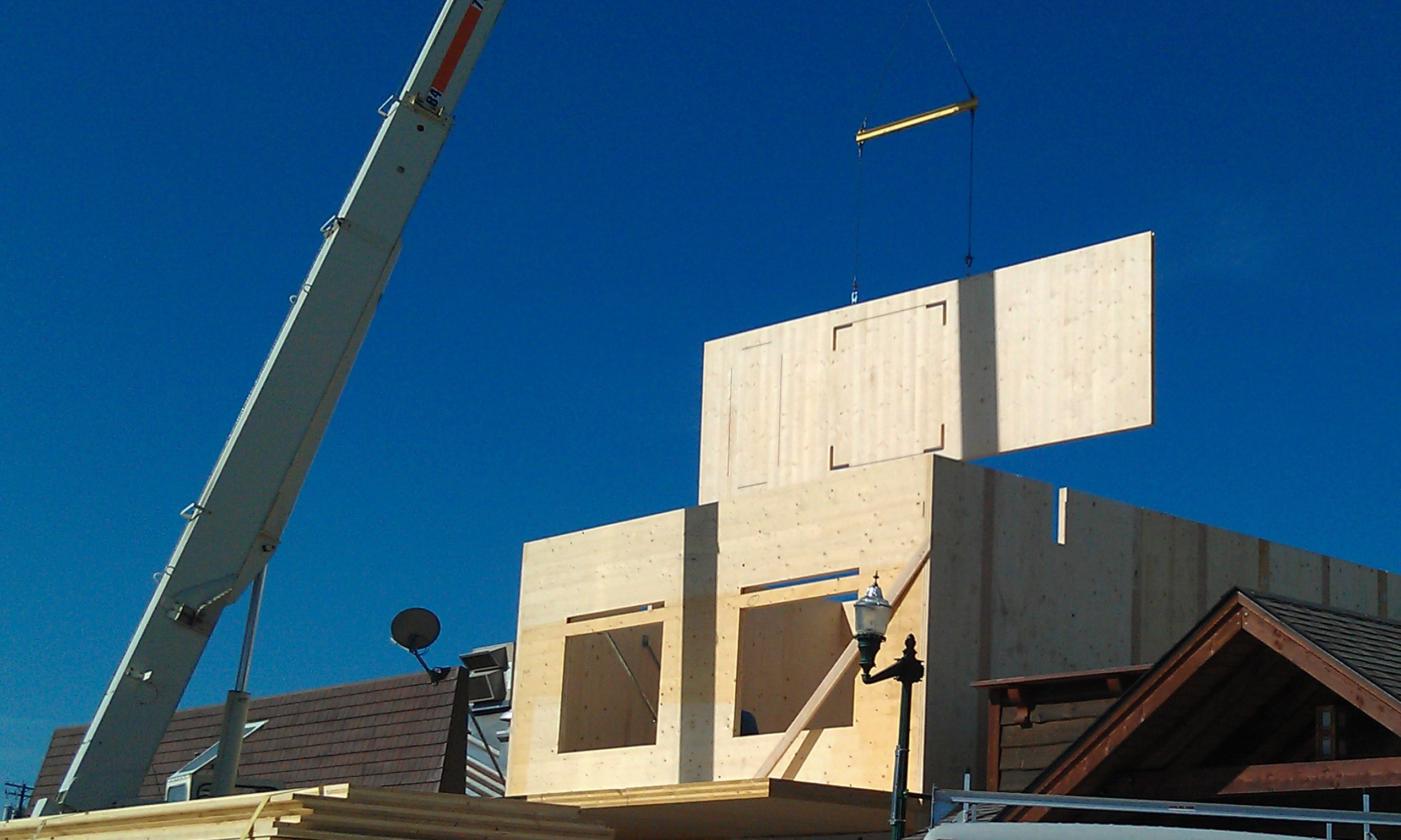 Use Of Cross Laminated Timber On The Rise Prosales