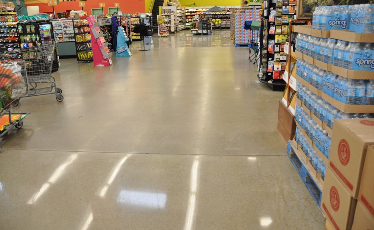 How to maintain and restore polished concrete concrete for Polished concrete maintenance