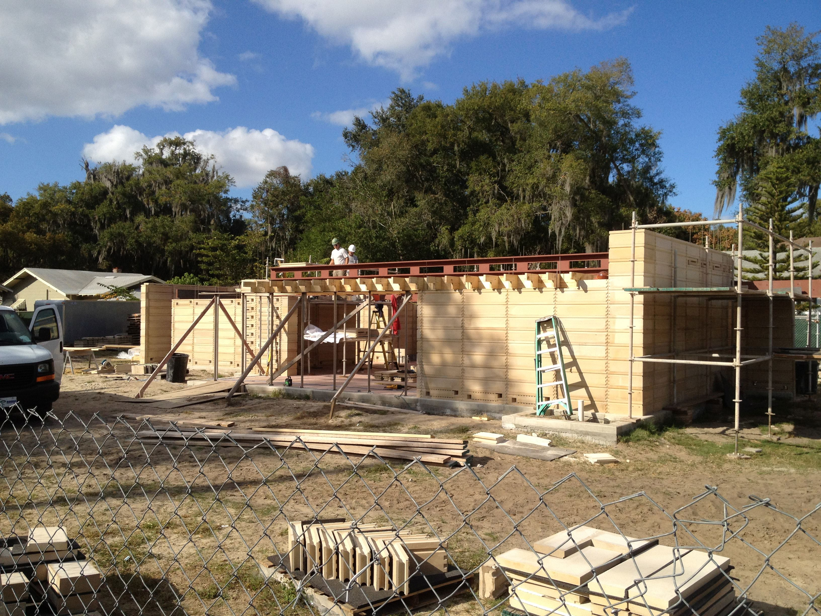 Kitchen remodel projects traditional kitchen tampa by kitchen - Reconstructing Frank Lloyd Wright Block By Block